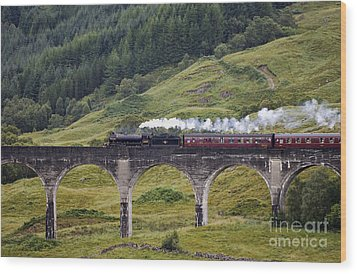 Glenfinnan Viaduct - D002340 Wood Print