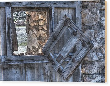 Glimpses Of Times Past Wood Print by Heiko Koehrer-Wagner