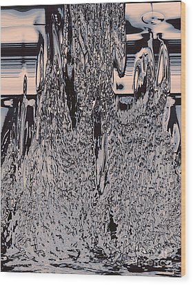 Global Warming Wood Print by Gerlinde Keating - Galleria GK Keating Associates Inc