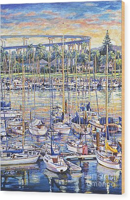 Glorietta Bay Sunrise Wood Print