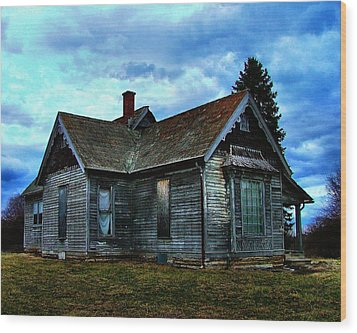 Glory Days Gone By Wood Print by Julie Dant