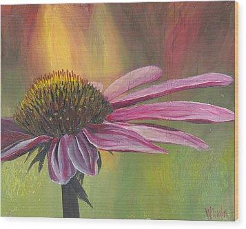 'glory In Bloom' Wood Print