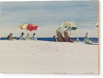Gloucester Beach Wood Print by Edward Hopper