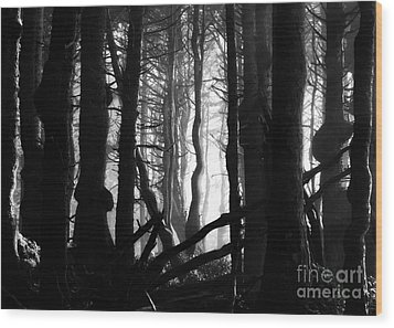 Gnarled Wood Print by Deena Otterstetter