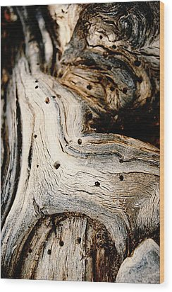 Gnarly Wood Print by Leanna Lomanski