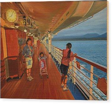 Go-betweens Wood Print by Thu Nguyen