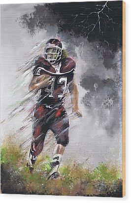 Go Cody Wood Print