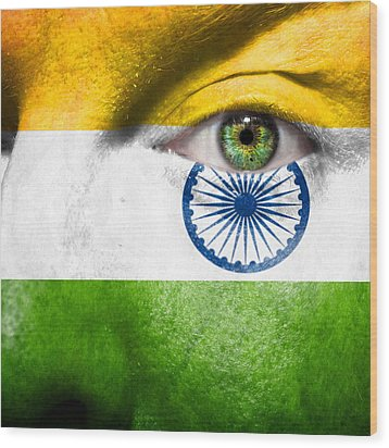 Go India Wood Print by Semmick Photo