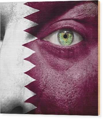 Go Qatar Wood Print by Semmick Photo