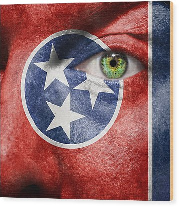 Go Tennessee Wood Print by Semmick Photo