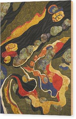 Go With The Flow Wood Print by Lynda K Boardman