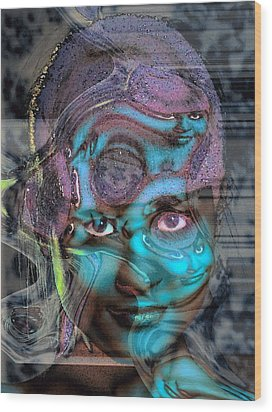 Wood Print featuring the photograph Goddess Of Love And Confusion by Richard Thomas