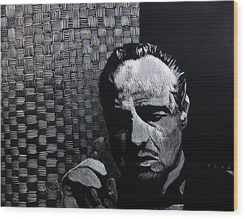 Godfather Wood Print by Jeremy Moore