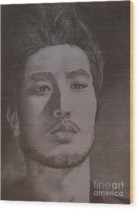 Godfrey Gao Wood Print by Lorelle Gromus