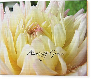Wood Print featuring the photograph God's Amazing Garden by Margie Amberge
