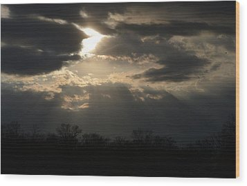 Wood Print featuring the photograph Gods Creation by Dacia Doroff