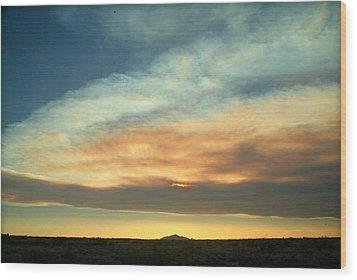 God's Pastels.. Wood Print by Al  Swasey