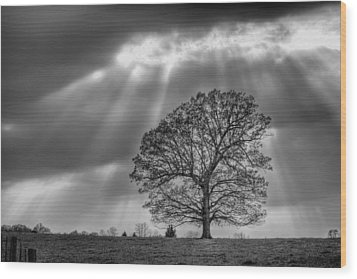 Wood Print featuring the photograph Gods Work by JC Findley