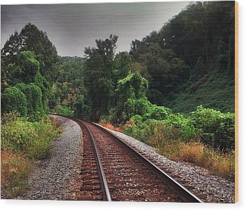 Wood Print featuring the photograph Going Somewhere by Janice Spivey