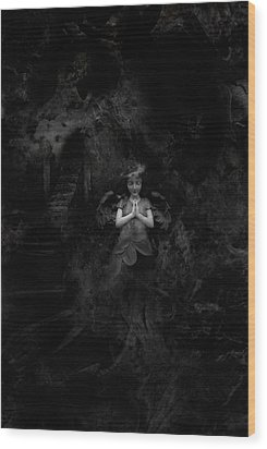 going to Heaven Wood Print by David Fox