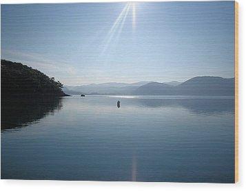 Wood Print featuring the photograph Gokova Bay  by Tracey Harrington-Simpson