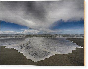 Gold Bluffs Beach 1 Wood Print