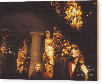 Wood Print featuring the photograph Gold Mars by Steven Macanka