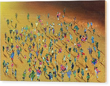 Gold Rush Wood Print by Neil McBride