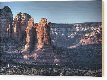 Wood Print featuring the photograph Golden Buttes by Lynn Geoffroy