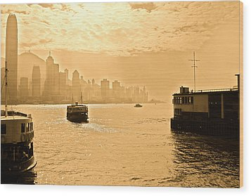Golden Day Wood Print by Richard WAN