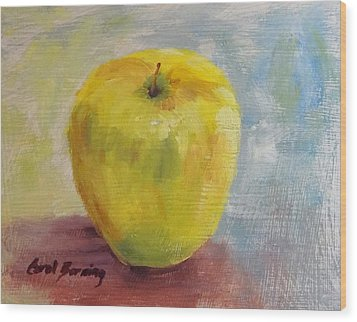 Golden Delicious Wood Print by Carol Berning