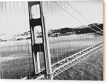Wood Print featuring the photograph Golden Gate by Amy Giacomelli