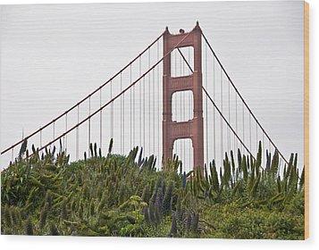 Golden Gate Bridge 1 Wood Print by Shane Kelly