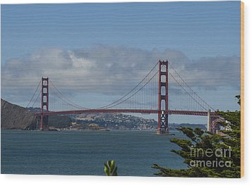 Golden Gate Bridge 2 Wood Print
