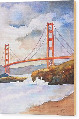 Golden Gate Bridge 4 Wood Print