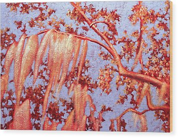 Golden Hour 7 Wood Print by Carlynne Hershberger