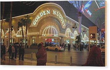 Golden Nugget Wood Print by Kay Novy