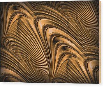 Golden Opportunity Wood Print by Kristin Elmquist