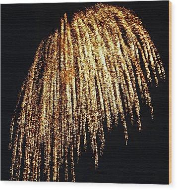 Golden Umbrella Wood Print by Aimee L Maher Photography and Art Visit ALMGallerydotcom