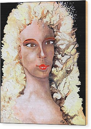 Goldilocks Wood Print by Daniel Janda