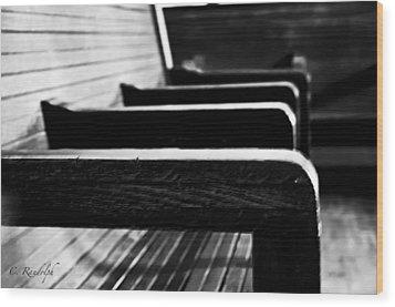 Gone Wood Print by Cheri Randolph