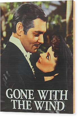 Gone With The Wind Wood Print