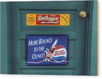 Good For Life Or More Bounce? Wood Print by David Simons