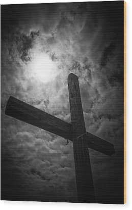 Good Friday Wood Print by Caitlyn  Grasso