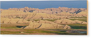 Good Morning Badlands I Wood Print by Patti Deters