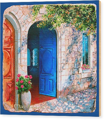 Good Morning Jerusalem Wood Print