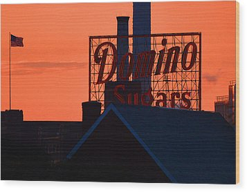 Wood Print featuring the photograph Good Morning Sugar by Bill Swartwout