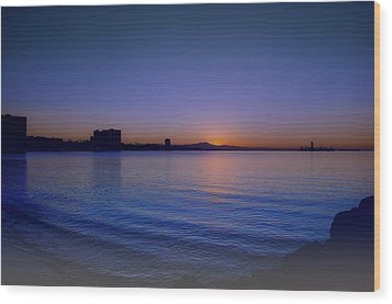 Wood Print featuring the photograph Good Morning Sunshine 2 by Joseph Hollingsworth