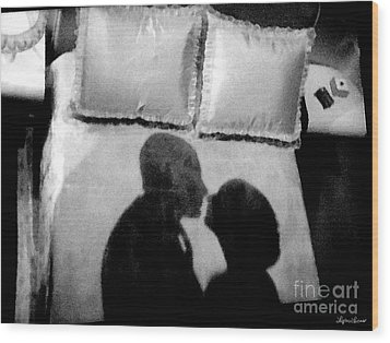 Dream Of Love Wood Print by Lyric Lucas