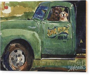 Good Ole Boys Wood Print